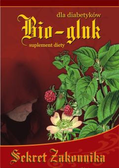 Bio-gluk CUKIER Sekret Zakonnika herbatka ziołowa 40 saszetek