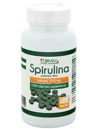 Spirulina 250 mg 400 tabletek