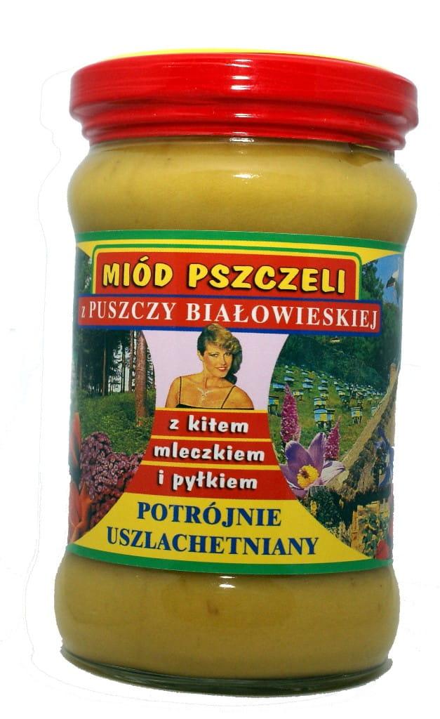 Miód pszczeli z pyłkiem, mleczkiem i kitem z Puszczy Białowieskiej 420 g - Fenomen natury